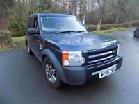 2006 LAND ROVER DISCOVERY 3 TDV6 7 SEATS ESTATE DIESEL