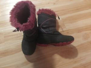 Bottes d'hiver fille taille 6
