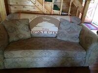 Neutral couch and matching love seat Reduced  PRICE!!