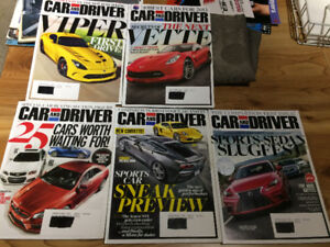 Car and Driver Magazines