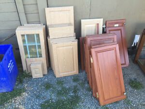 Cabinet doors and drawers