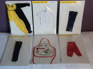 Vintage 1963-67 Barbie collector KEN clothes/ outfits. Some HTF!