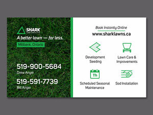 Premium Fall Lawn Care Service | Shark Lawn Specialists Stratford Kitchener Area image 7