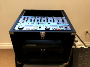 DJ PACKAGE /MIXER/DUAL DISK CD PLAYER/INDUSTRIAL CASE