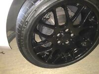 "Alloy wheels - RIVA DTM black 18"""