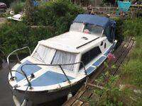 Boat river cruser