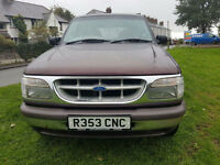 Ford Explorer 4.0 4011cc auto 12 months mot PX Swap Anything considered