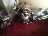 50cc Moto chopper brand new