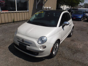 2014 Fiat 500 Hatchback EXCELLENT CONDITION CERTIFIED !!!!!!!!!
