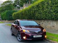 15 TOYOTA AVENSIS 1.8 VVTI TR AUTO 4DR + GEN 23K MILES + F TOYOTA HSTRY + 1OWNER