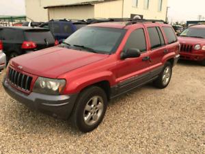 2004 jeep grand Cherokee Columbian edition
