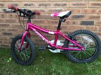 Saracen Bella 16 inch girls bike