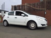 Vauxhall Corsa Years Mot Only 50k Miles Full Service History Same Owner From New !