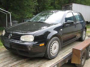 Parting out 1997-2003 Volkswagen Golf CL