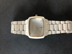 Nixon Player Diamond-Accented Stainless Steel Watch