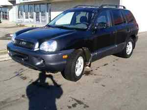 2002 Hyundai santafe Awd 2.7l + Remote Starter for  only 2300$