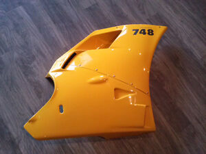 Ducati 748 OEM Original Left Side Body Fairing Upper and Lower