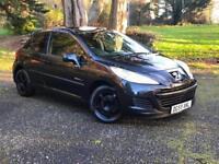 2009 Peugeot 207 1.4 S 3 Door Black ( a/c )