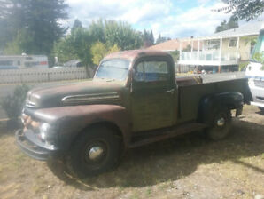 For Sale : 1951 FORD F3 pick up