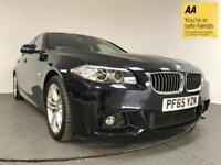 2016 65 BMW 5 SERIES 2.0 520D M SPORT 4D AUTO 188 BHP DIESEL