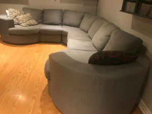 *!*SOFA SECTIONAL EXCELLENT CONDITION-QUALITY //SOFA SECTIONNEL*