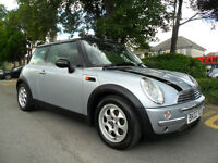 MINI COOPER 1.6 2002 COMPLETE WITH M.O.T HPI CLEAR INC WARRANTY