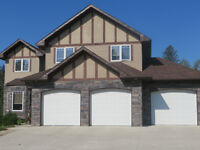 Executive home for sale in Rocky mountain House.