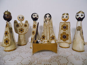 Unique Nativity Set from Mexico Christmas