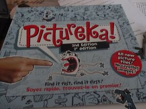 Pictureka (English & French) as good as new -Family Game