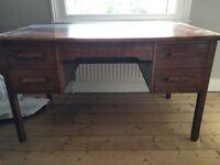 Beautiful antique wooden desk