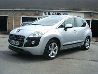 2010 60 Peugeot 3008 1.6HDi Sport 5d **New MOT**