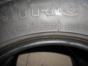 2-P175/65R14 82T UNIROYAL TIGERPAW ASK FOR 0102