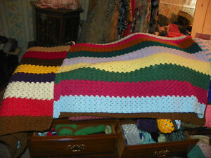 large crocheted afghans
