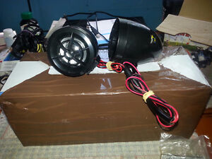 motorcycle stereo   can install in needed.