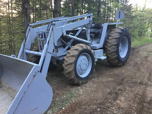 Tracteur white 700