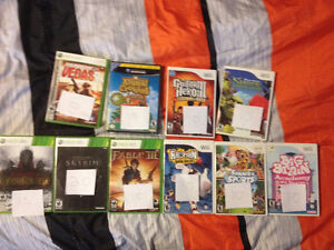 Skyrim, War in the North, Fable III X360 & Wii games