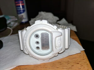 Casio G Shock Watch White in Colour