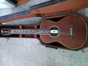 Washburn parlour guitar for sale