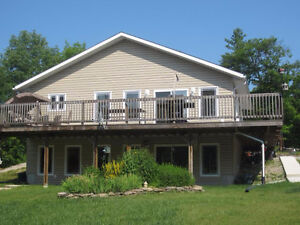 Bungalow with walk out on Manitoulin Island
