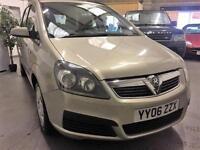 2006 06 Vauxhall Zafira 7 seater,Full Service