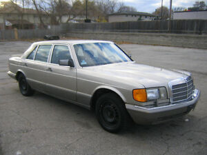 1988 Mercedes-Benz 420SEL Cambridge Kitchener Area image 3