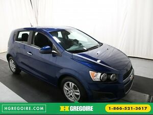 2012 Chevrolet Sonic LT AUTO A/C GR ELECT MAGS BLUETHOOT