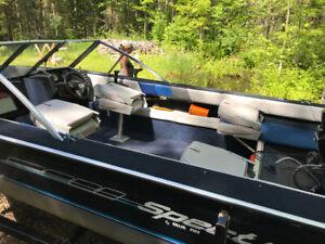 Spectrum 1600 Fishing Boat with 90HP 2 Stroke Outboard Merc