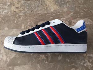 Adidas Superstar II  s. 8 - unique for connoisseurs for team USA