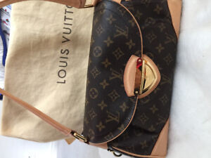 LOUIS VUITTON BEVERLY MM MONOGRAM