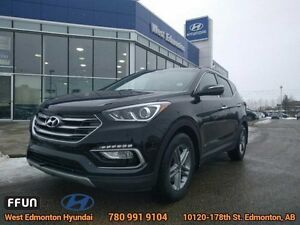 2017 Hyundai Santa Fe Sport SE   AWD Leather Heated Seats Pan...