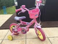 "Girls 12"" Peppa Pig Bike"