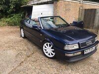 Audi 80 Cabriolet mot July 17 swap estate mpv??