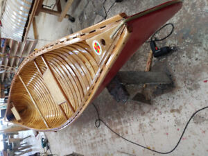 Dr Pauls canoe and boatbuilding shop.