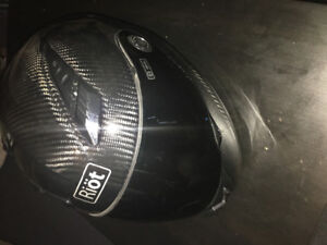 Carbon fiber Riöt Helmet XL NEW